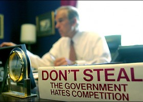 Is Ron Paul really out?  Maybe not