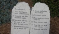Lions and tigers and – the ten commandments? Oakland Zoo removes decalogue days before planned protest