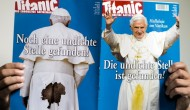 Pissing match: Vatican sues over satirical magazine cover
