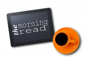 Morning read_tablet